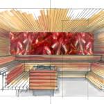 Planungsbeispiel Finnische Sauna