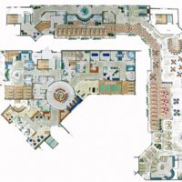 Planungsbeispiel großzügiges Hotel Spa