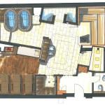Planungsbeispiel kompaktes Hotel Spa