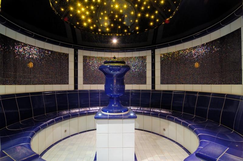 DampfbadrundMosaikFliesenEsperantoFulda HILPERT Feuer Spa - Fliesen mosaik rund