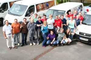 Büroteam und Monteure der Firma Hilpert Fulda