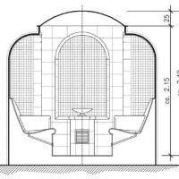 Dampfbad Schnittzeichnung der Cocon Standard-Version