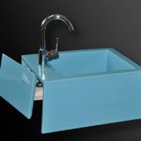 Fußbecken MONOBLOCK - Das fugenlose Fußbad aus farbig glasierter Keramik