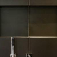 Detail der Dusche