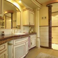 Damenbad mit BAUR Waschtisch und Dusche