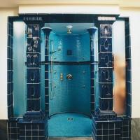 Maisson Messmer Eingang Dusche Jugendstil-Portal