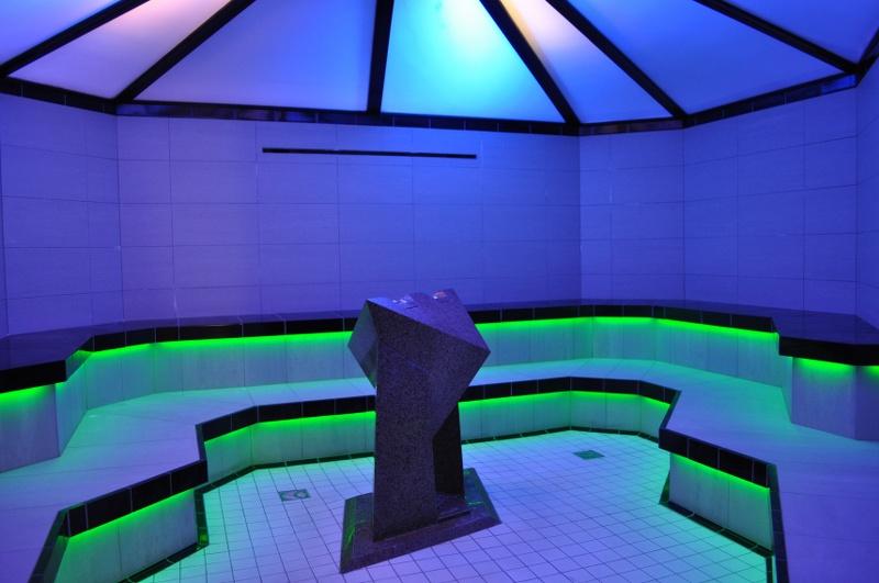 Einbauspot LED Wasserdicht IP65 7 W 12 V Beleuchtung dusche Dampfbad – Licht Warmweiß Farbe ...