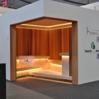 Messe Interbad 2014 - Spa Wellness Aussteller Sauna Baums Holzteam
