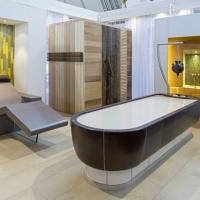 Messe Interbad 2014 - Spa Wellness Aussteller - Massageliege, Massagetisch