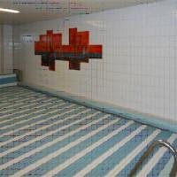Burg Hotel - Die alte Schwimmhalle vor dem Umbau durch Hilpert