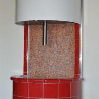 Eisbrunnen Alaska rot - Abkühlung Sauna