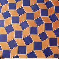 Keramische Wandgestaltung