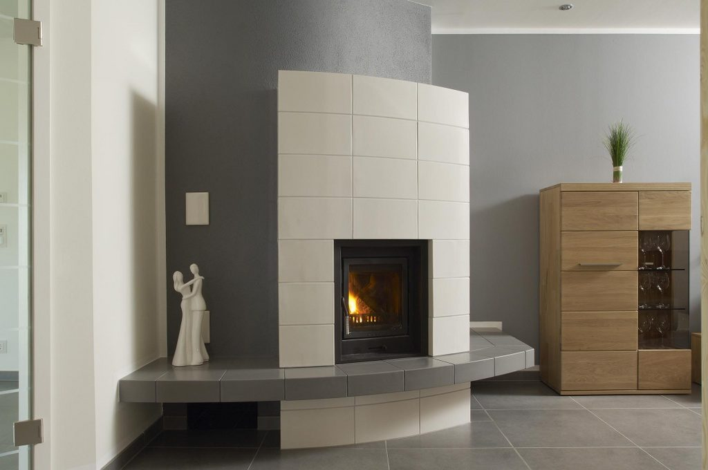 Kachelofen Kamin Modern Hilpert Feuer Spa