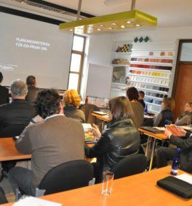 Architektenseminar vom 2. und 3. März 2016
