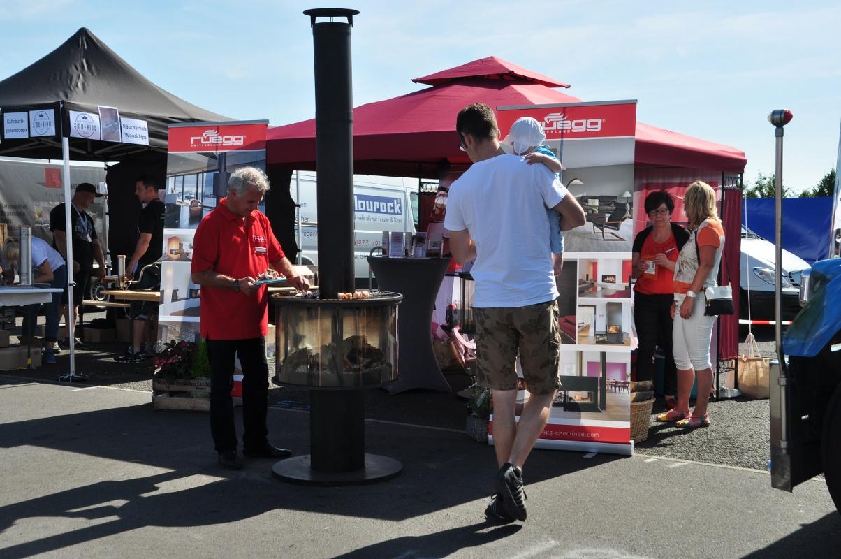 """Deutsche Grillmeisterschaft in Fulda mit Rüegg-Grillkamin """"Surprise"""" – Nachlese"""