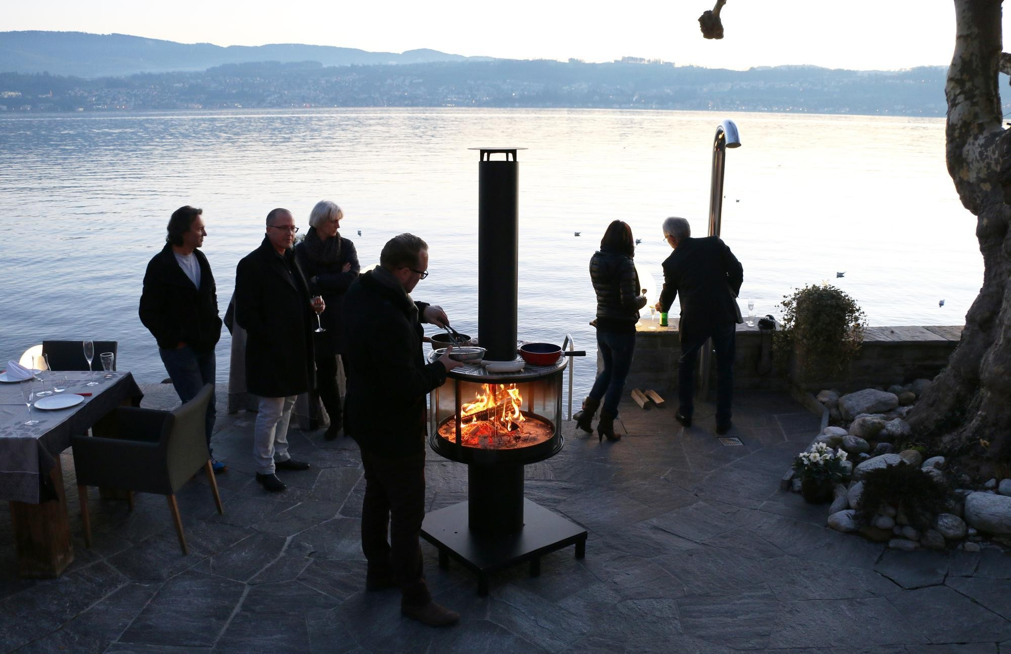 deutsche grillmeisterschaft in fulda mit r egg grillkamin. Black Bedroom Furniture Sets. Home Design Ideas
