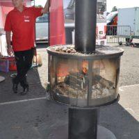 """Deutsche Grillmeisterschaft in Fulda - mit Rueegg Grillkamin """"Surprise"""" grillen BBQ"""