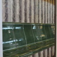 Dampfbad Bank - mit Ablauf / koerperform Keramik