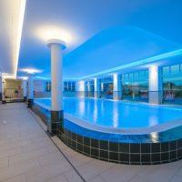 Romantikhotel Fischerwiege Ahrenshoop Schwimmhalle Pool Schwimmbecken
