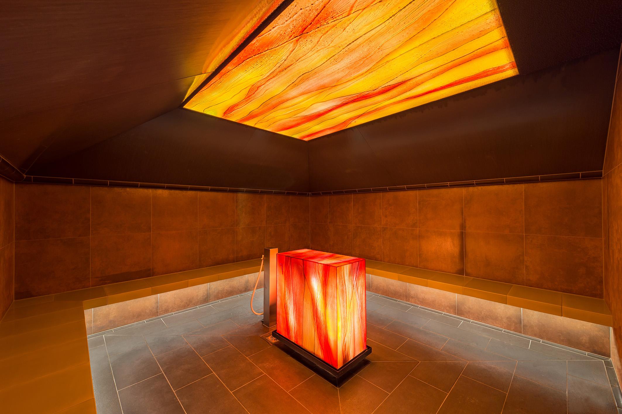Europabad Karlsruhe – Dampfbad im Saunabereich