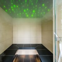 Privatspa-END Dampfbad Sternenhimmel LED Faserlicht beleuchtung