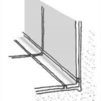 Keramik-Kehlsockel als Anschlussprofil zwischen Fußboden und Wand für einfache Pflege.
