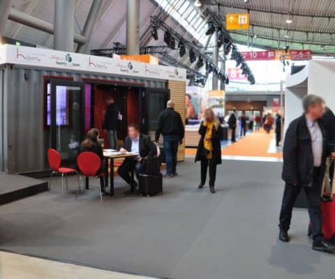 Container-Spa auf der INTERBAD 2018 Stuttgart