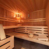 finnische Sauna im Privat-Spa BOR