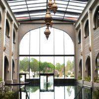 Berendonck Sauna und Wellness Resort - zentraler Eingangsbereich