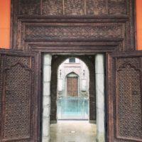 Berendonck Sauna und Wellness Resort - altes indisches Eingangsportal