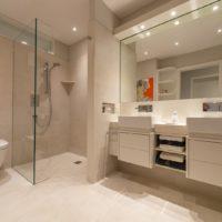Privat Spa KOC Wellness Sauna Wohnbad Designbad Waschtisch Doppelwaschtisch zuhause daheim Dusche Toilette WC Designklo