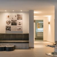 PrivatSpa BUH (private Wellness Oase) - keramische Wärmebank mit Fussbad