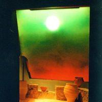 Heliodom - Der Sonnenraum für Ruheraum oder Entspannungsraum. Tagesablauf mit Sonnenaufgang und Sonnenuntergang.