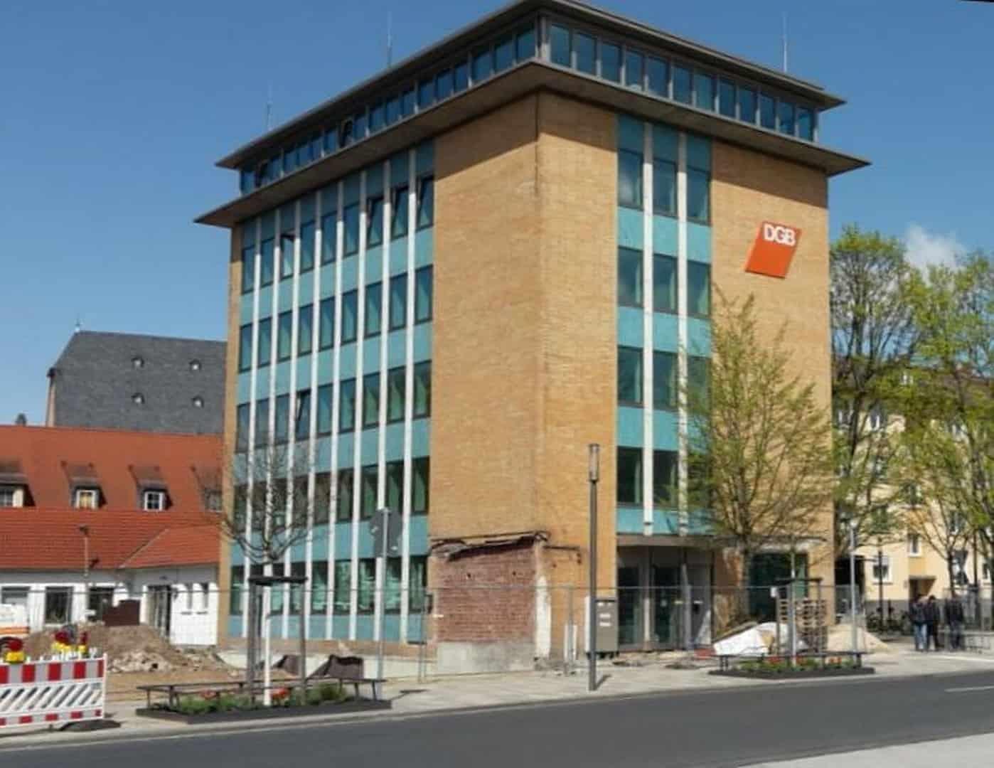 Sanierung Wandbelag DGB-Haus Hanau