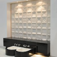 Wandkeramik als Wandgestaltung: Keramik als athomsphärisches Element und beheizte Wandfläche (Wandheizung)
