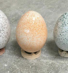 Tolle Osterdeko: Keramikeier aus deutscher Handarbeit