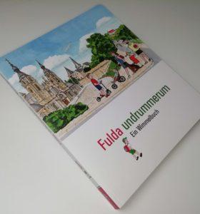 """Kinderbuch """"Fulda undrummerum"""" ein Wimmelbuch nicht nur für Kinder"""