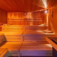 Sauna im Spa & Wellnesbereich des Hotel Gasthaus Mosers Blume in Haslach-Schnellingen