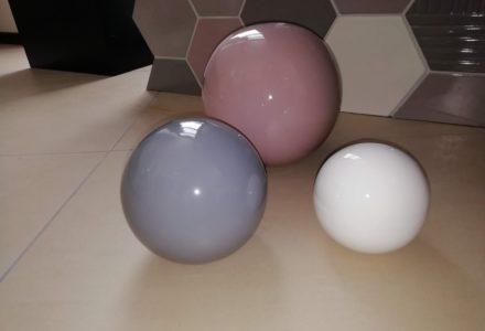 Deko-Keramikkugeln für Garten oder Wohnung