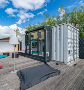 CONTAINER-SPA COOEE – Ostseehotel Baabe family & SPA